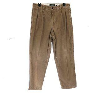 Eddie Bauer Nano Care Corduroy pants 33 x 30 Tan
